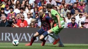 Un momento del partido. / Foto: http://www.fcbarcelona.es