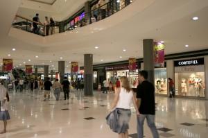 Imagen de un centro comercial.