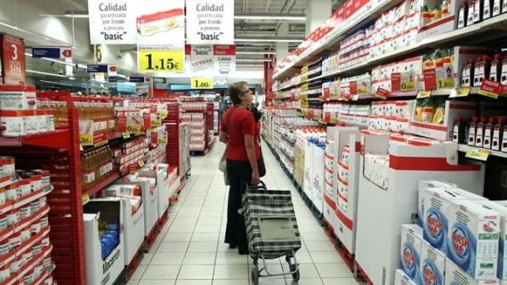 Las ventas del comercio minorista suben un 0,1% en abril en términos interanuales