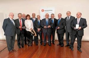 El Consejo entregó sus premios.