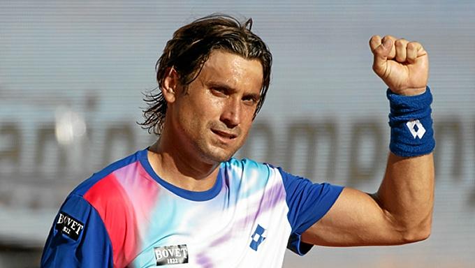 El español David Ferrer. / Foto: www.madrid-open.com