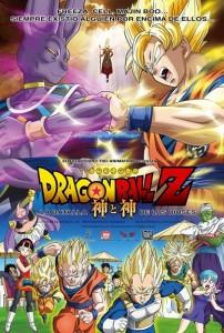 Cartel de la película `Dragón Ball Z´.