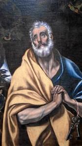 Uno de los cuadros de El Greco que componen la exposición.