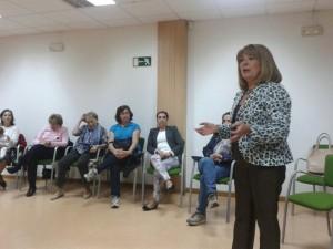 Rocío Muñoz, presidenta de la Federación de AFAs Andalucía. / Foto: Paco Crespo
