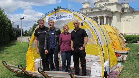 Una expedición española recorrerá Groenlandia a bordo de un trineo eólico