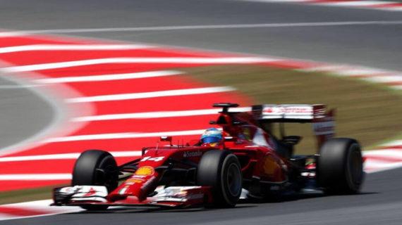 Fernando Alonso araña ocho puntos en el Gran Premio de España de F1