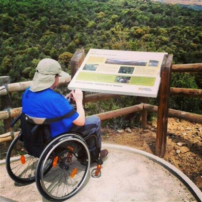 Los bloggeros mostrarán si es posible moverse por Aragón en silla de ruedas.