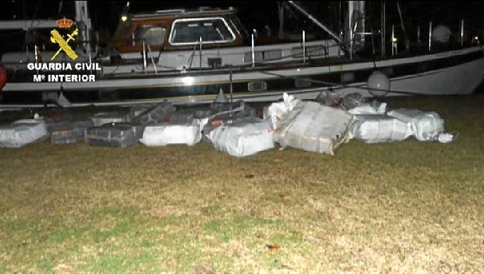Detienen a seis personas acudas de blanquear dinero procedente del narcotráfico