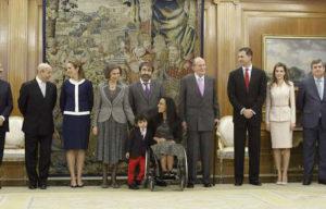 Teresa Perales en la entrega de la Gran Cruz de la Real Orden del Mérito Deportivo.