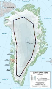 Mapa del recorrido previsto.
