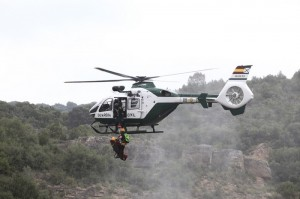 Helicóptero de la Guardia Civil.