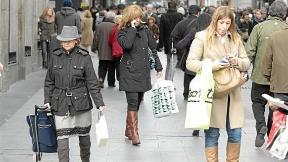 El PIB subió un 0,4% hasta marzo por el mayor consumo y creció un 0,5% en tasa interanual