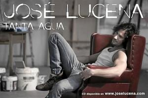 Portada del primer disco de Jose Lucena.