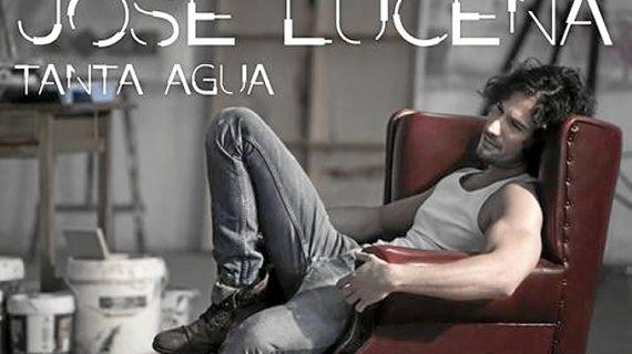 El cantante Jose Lucena presenta su primer disco 'Tanta agua'