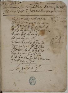 El manuscrito ha sido localizado recientemente. / Foto: Biblioteca Nacional