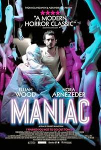 Cartel de 'Maniac'.