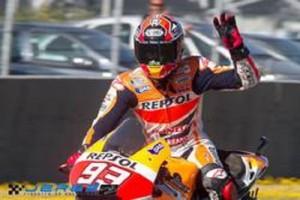 Marquez, lograba la pole en MotoGP. / Foto: http://www.circuitodejerez.com