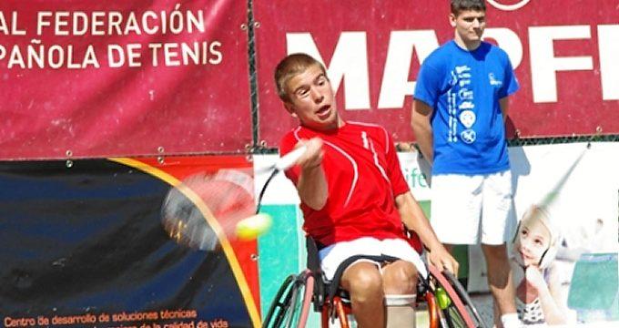 Martín de la Puente se proclama campeón de España de tenis en silla de ruedas