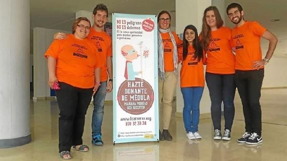 Organizan una jornada informativa sobre donación de médula en 40 universidades españolas