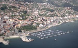 La localidad de Moaña, donde fueron localizados los jóvenes. / Foto: www.turgalicia.es