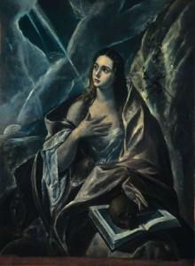 Santa Magdalena penitente, en el Museo de  Monserrat.