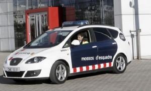 Imagen de un coche de Mossos d'Esquadra.