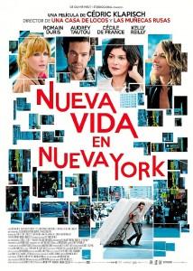 Cartel de 'Nueva vida en Nueva York'.