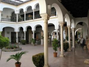 Patio del Palacio de los Páez de Castillejo (Córdoba)