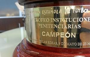 competición es entre presos de distintos centros penitenciarios españoles. / Foto: RFEF