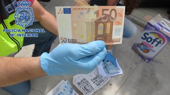 La Policía Nacional detiene en Albacete a un importador de billetes falsos elaborados en Italia