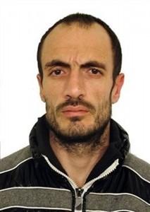 Imagen del preso detenido.