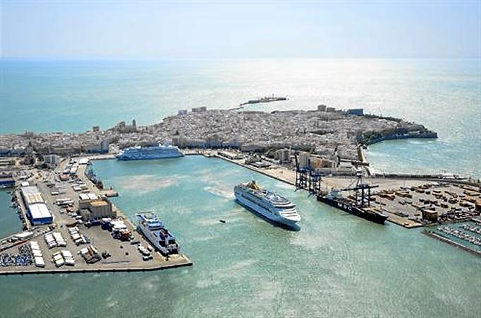 Uno de los puertos españoles.