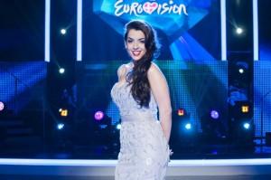 La cantante Ruth Lorenzo en Eurovisión. / Foto: www.eurovision.tv