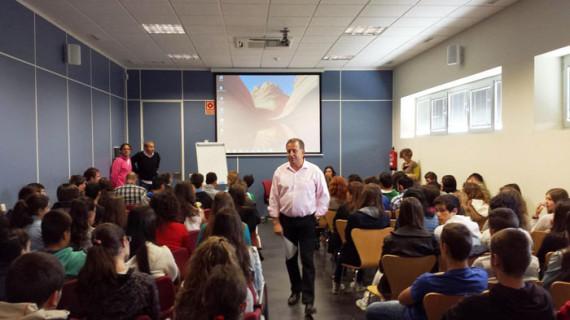 Cerca de 200 estudiantes de Segovia participan en el II programa de emprendimiento '¿Cuál es tu Vaca?'