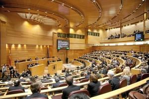 Imagen de un pleno del Senado. / Foto: www.senado.es