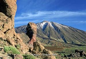 El hombre se cayó en una ladera del Teide. / Foto: www.magrama.gob.es