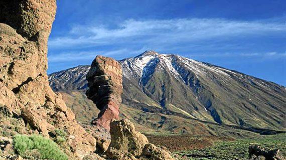 Localizan en perfecto estado al hombre que cayó por una ladera de El Teide