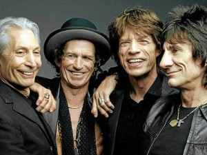 Una de las imágenes de la muestra sobre los 50 años de los Rolling Stones. / Foto: des-curiosites.blogspot.com.es
