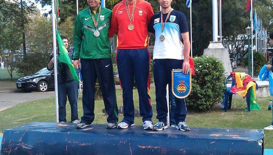 Roberto Martín consigue dos medallas de oro en el IV Campeonato Iberoamericano de Tiro