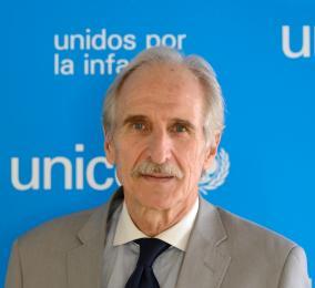 El presidente de Unicef España Carmelo Angulo. / Foto: www.unicef.es