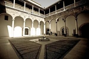 Interior del Rectorado de la Universidad de Granada. / Foto: rectorado.ugr.es/
