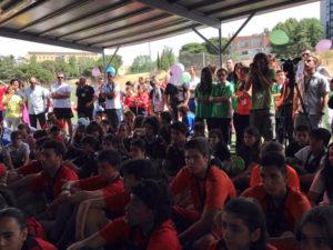 Estudiantes de Educación Secundaria que han participado en 'Vive sin trampa'.