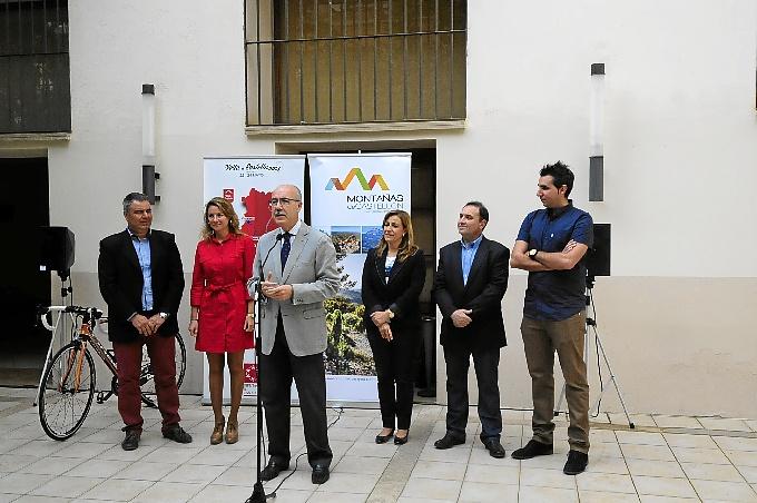 Presentación de la Vuelta Ciclista a Castellón.