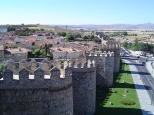 La muralla de Ávila es considerada la mejor conservada del mundo. / Foto: wikipedia