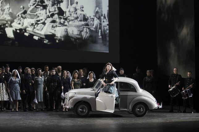 Representación de la ópera 'La forza del destino'