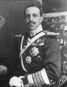El abuelo del Rey Don Juan Carlos, Alfonso XIII.