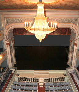 El Real Coliseo Carlos III.