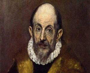 Autorretrato de El Greco.