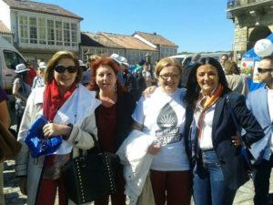 Enfermos de Párkinson en Santiago de Compostela