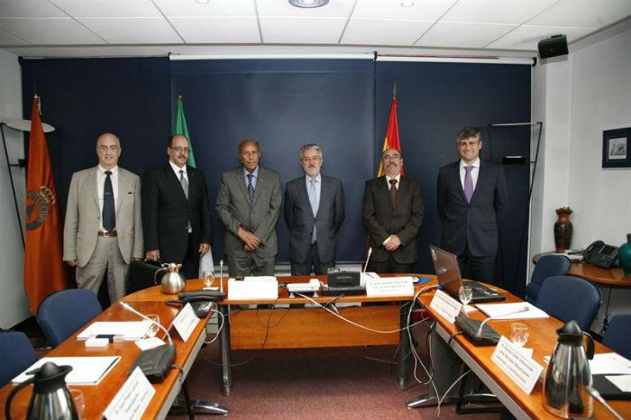 Reunión entre España y Argelia.